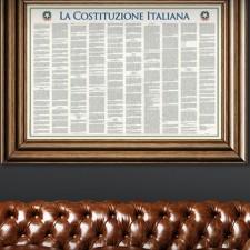 The Italian Constitution, Italian version