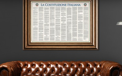 Italian Constitution, a new design form