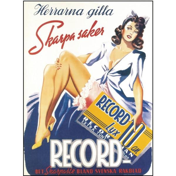 Record Herrarna Gilla Skarpa Saker
