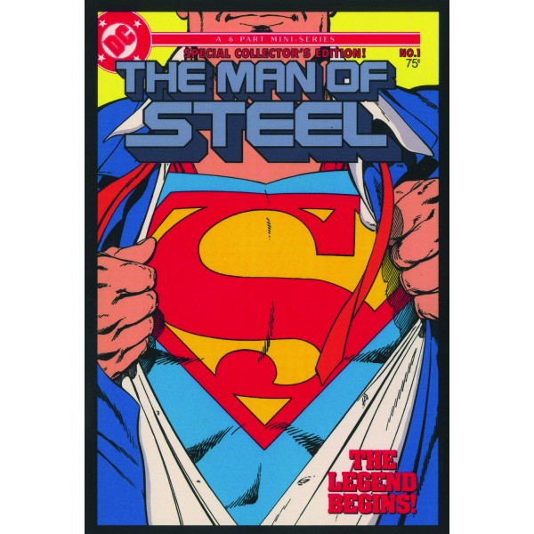 The Man of Steel, n. 1