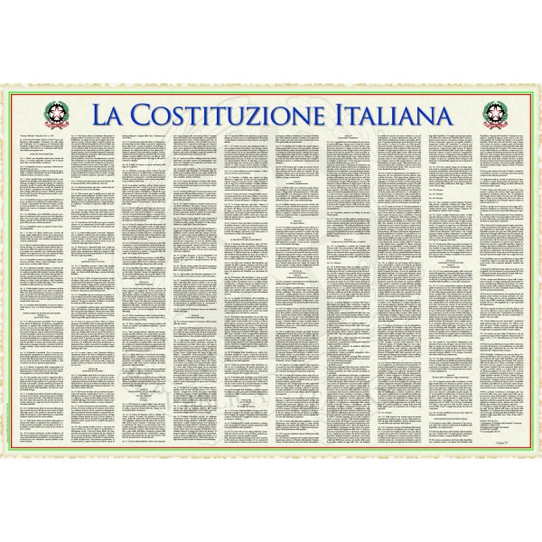 The Italian Constitution (Italian Version)