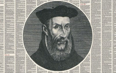 the prophecies of Nostradamus in a frame